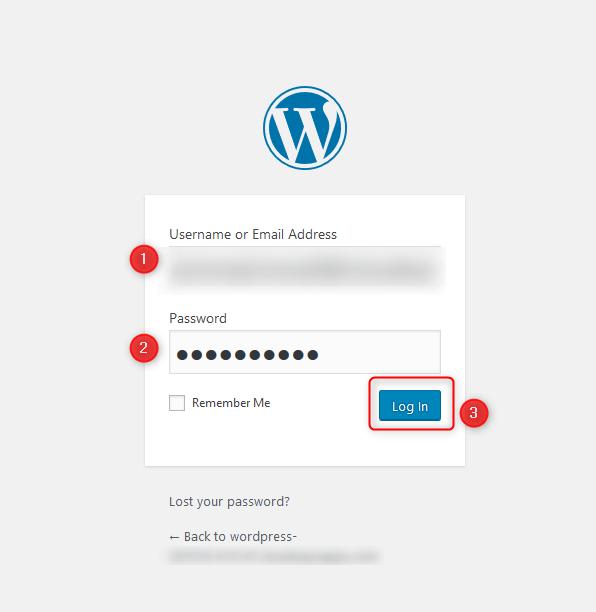 היכנסו לניהול אתר ה-WordPress שלכם