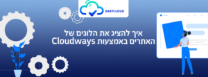 איך להציג את הלוגים של האתרים באמצעות Cloudways