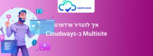 איך להגדיר וורדפרס Multisite ב-Cloudways