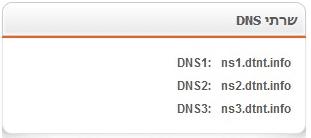 שרתי DNS