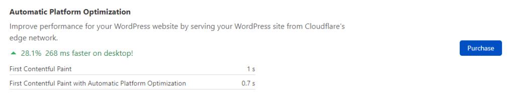 שירות Automatic Platform Optimization ישפר את המהירות של האתר שלכם