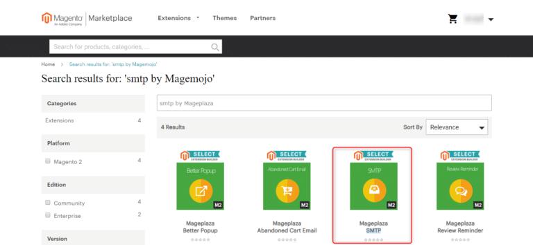 איך להגדיר את Mageplaza - תוסף SMTP למג'נטו 2.x